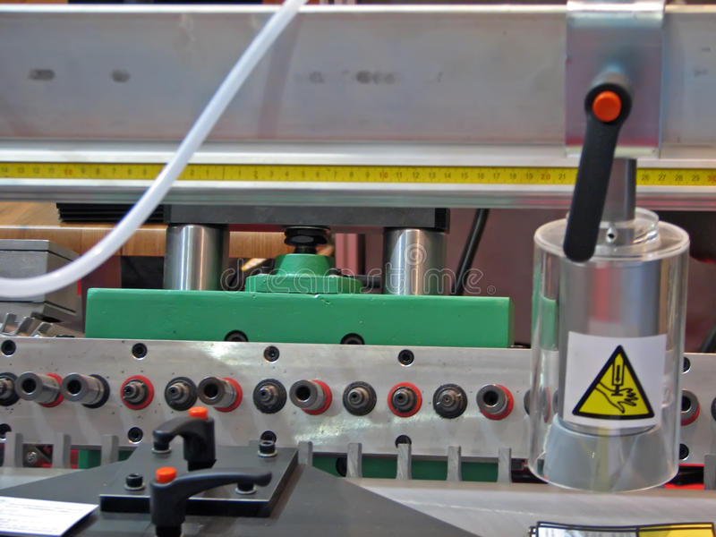 Máquina do Woodworking fotos de stock