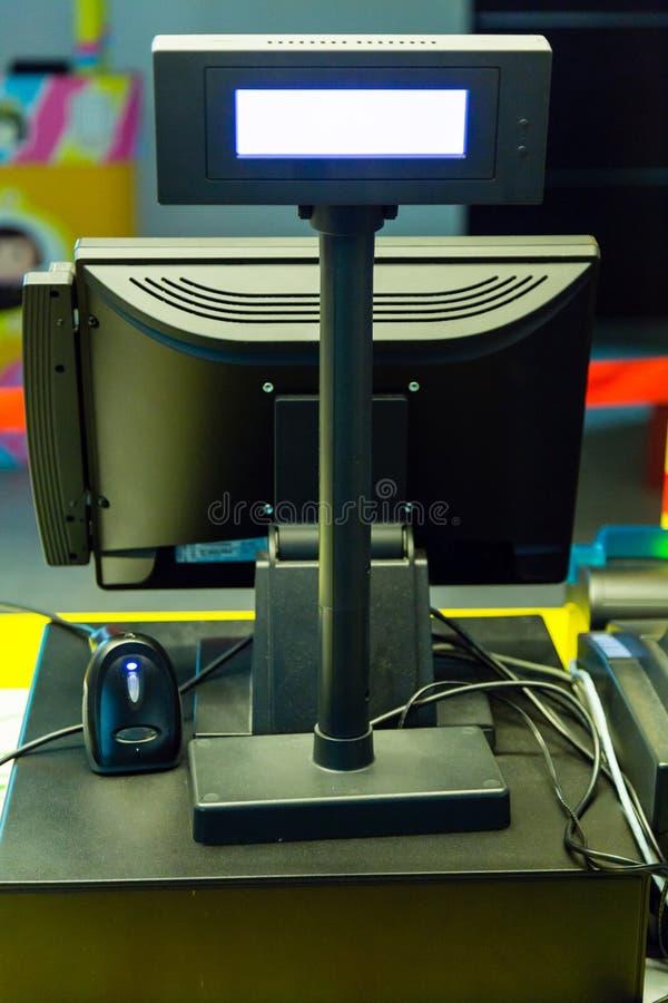 Máquina electrónica del punto de venta imagen de archivo libre de regalías