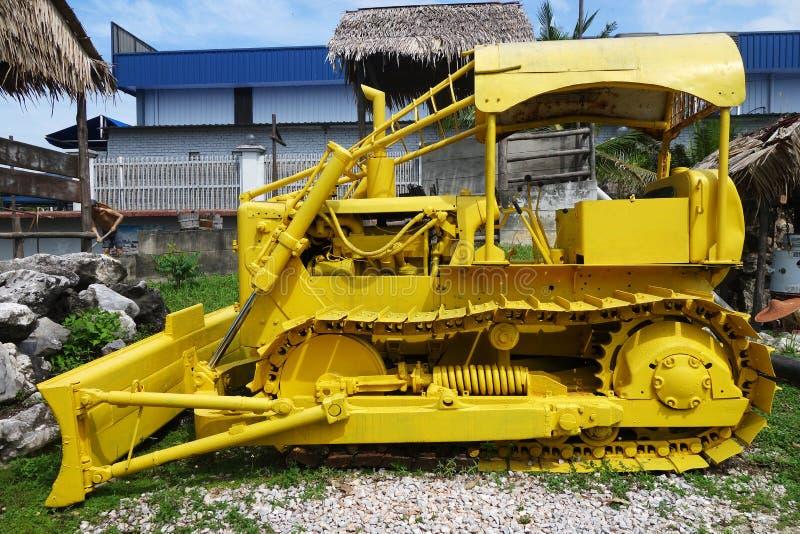 Máquina em Kinta Tin Mining Museum em Kampar, Malásia fotos de stock royalty free