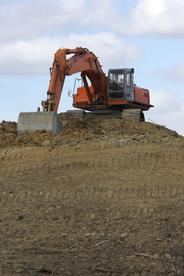 Download Máquina escavadora foto de stock. Imagem de cubeta, local - 533462