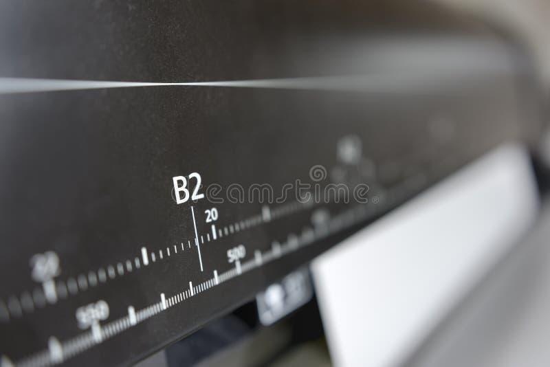 Máquina impressora de Digitas fotos de stock