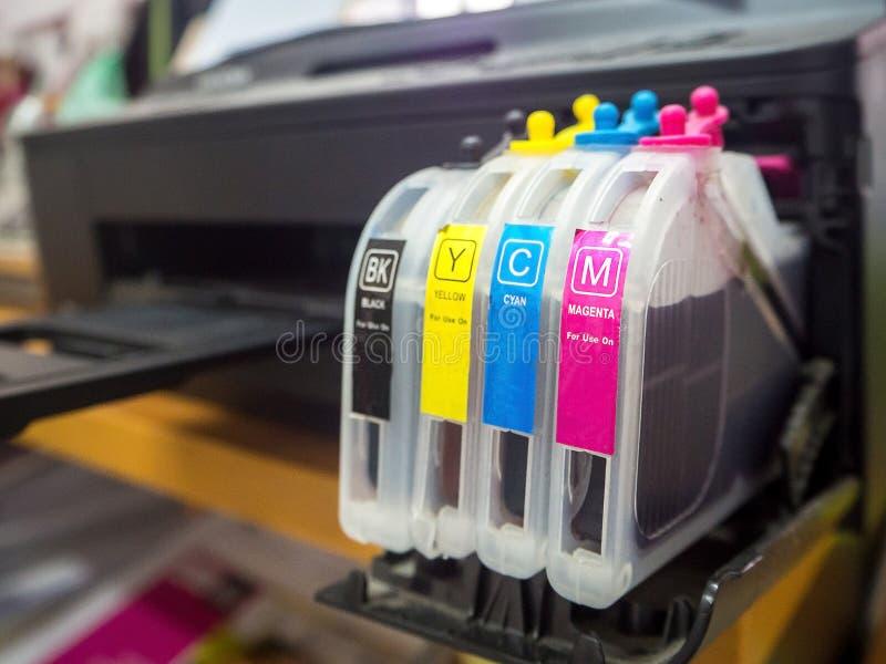 Máquina impressora de Digitas fotos de stock royalty free