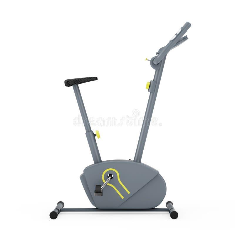 Máquina inmóvil del gimnasio de la bicicleta estática representación 3d libre illustration