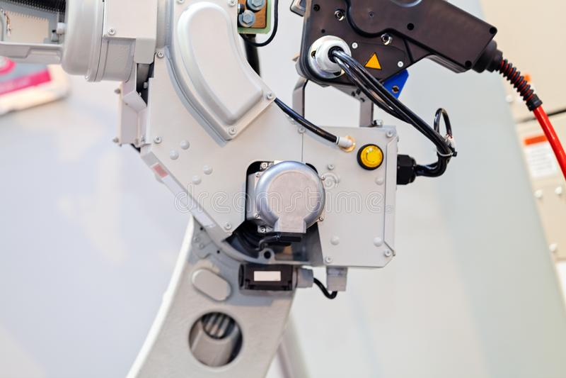Máquina-instrumento robótico fotografia de stock