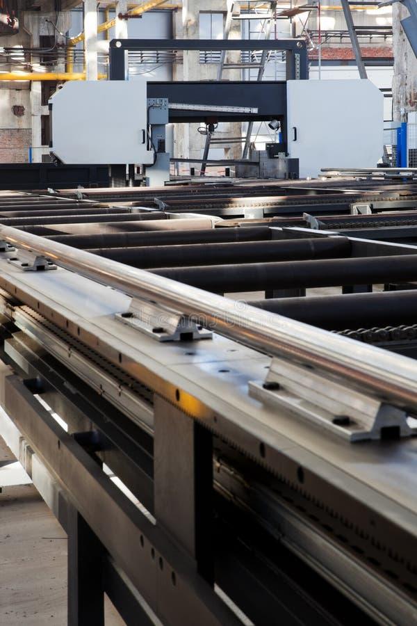 Máquina metalúrgica imagem de stock