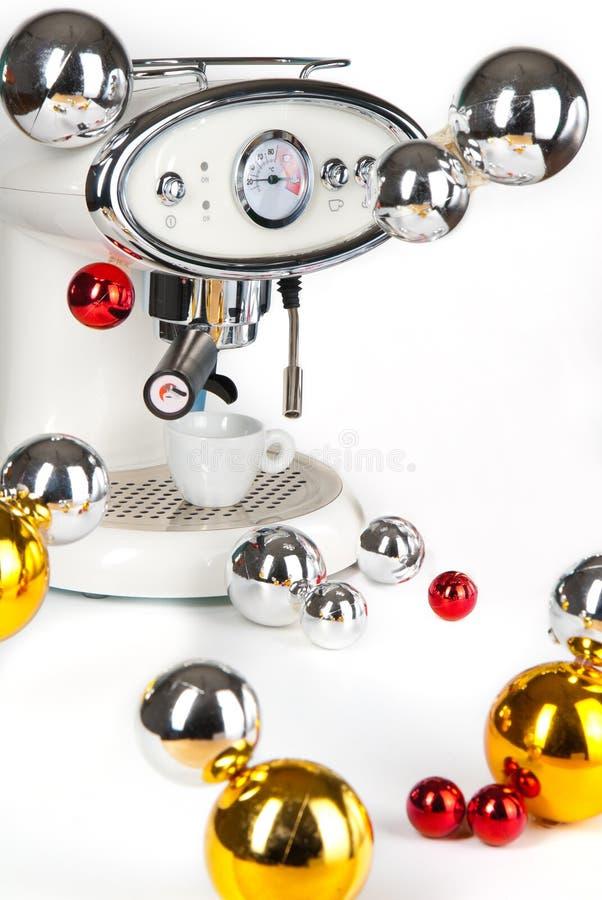 Máquina moderna del café foto de archivo