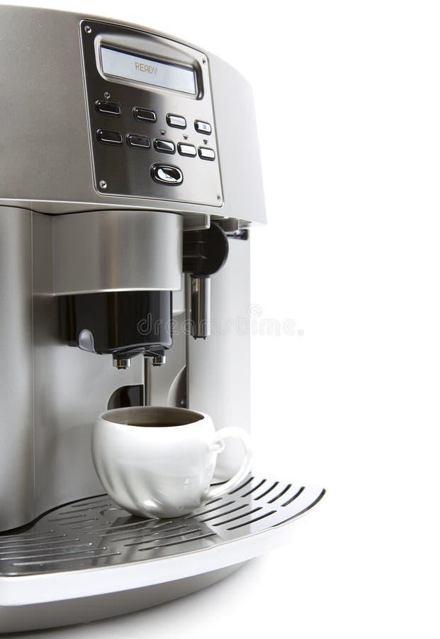 Máquina moderna del café imagen de archivo libre de regalías