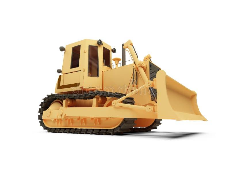 Máquina movente da terra ilustração do vetor
