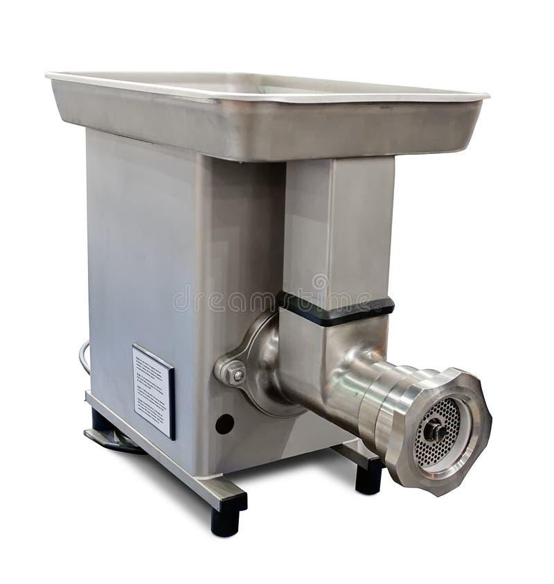 Máquina para picar carne industrial imagen de archivo libre de regalías