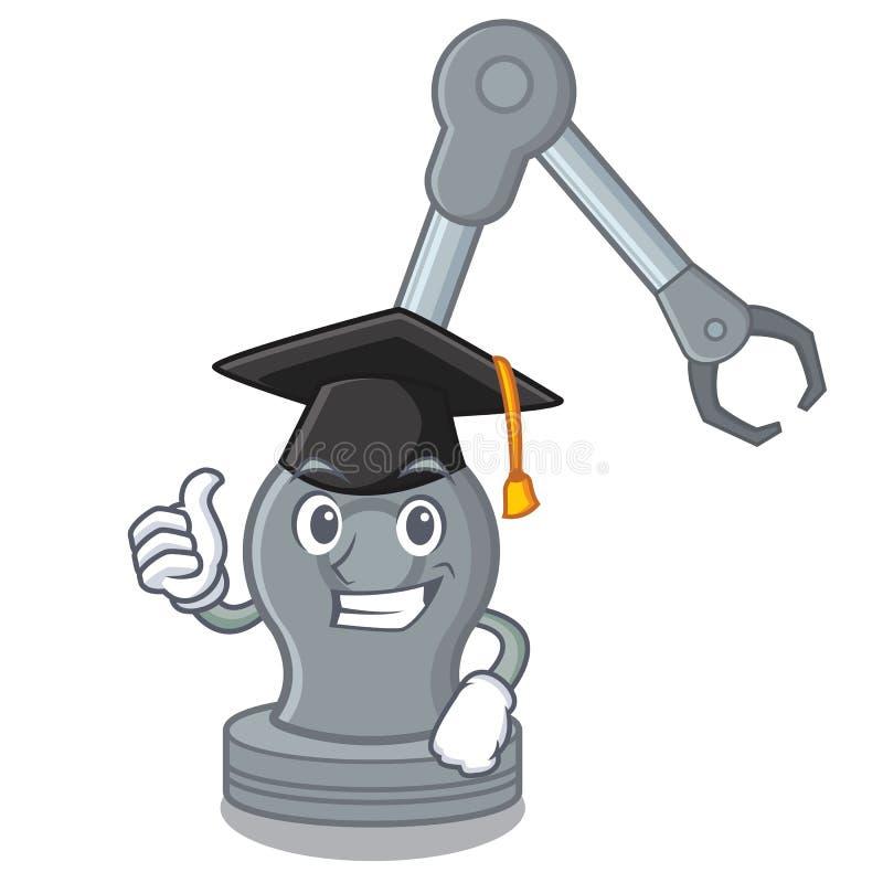 Máquina robótica del brazo del juguete de la graduación en forma de la historieta libre illustration