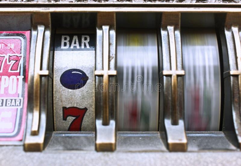 Máquina tragaperras fotografía de archivo libre de regalías
