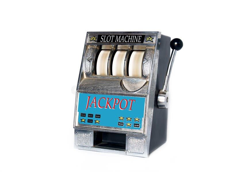 Máquina tragaperras imagen de archivo libre de regalías
