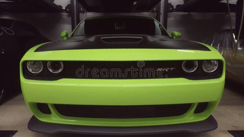 Máquina verde imagens de stock royalty free