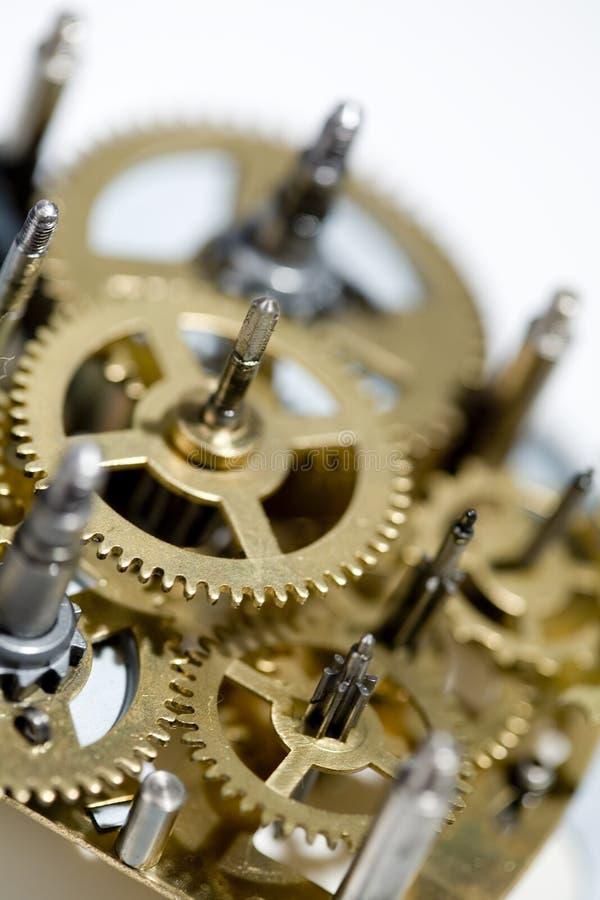 Máquina vieja del reloj fotos de archivo libres de regalías