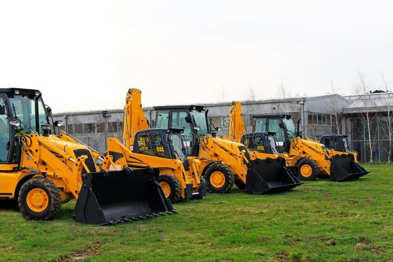 Máquinas da construção imagens de stock royalty free