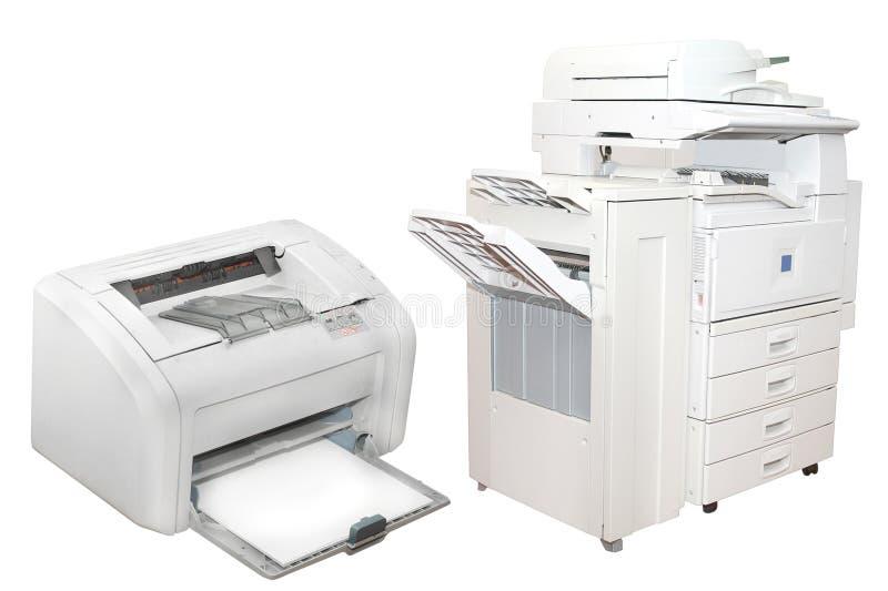 Máquinas de copi imagens de stock royalty free