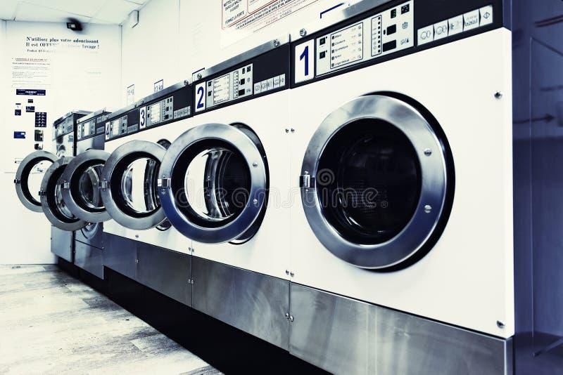 Máquinas de lavar fotografia de stock royalty free