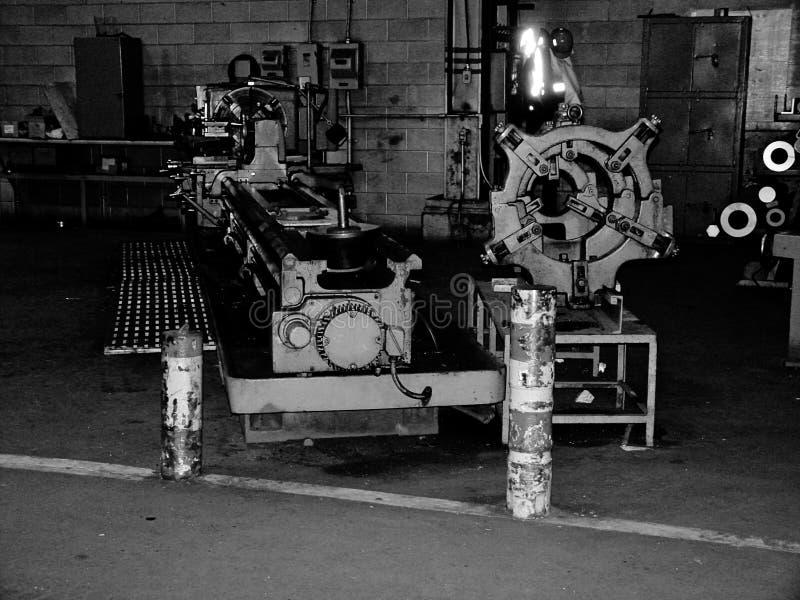 Máquinas do trabalho do metal imagem de stock royalty free