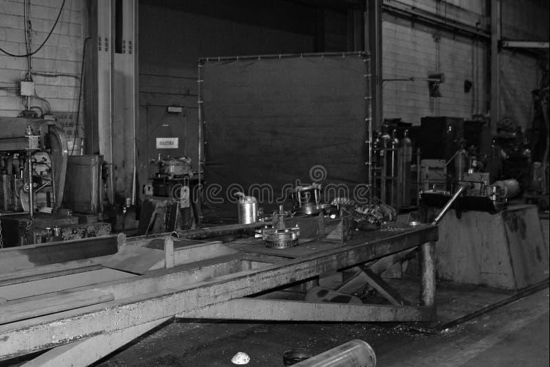 Máquinas do trabalho do metal imagem de stock