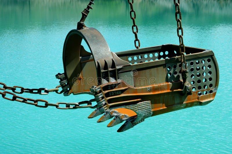 Máquinas escavadoras imagem de stock royalty free