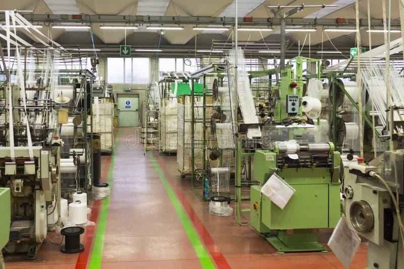 Máquinas para la materia textil fotografía de archivo libre de regalías