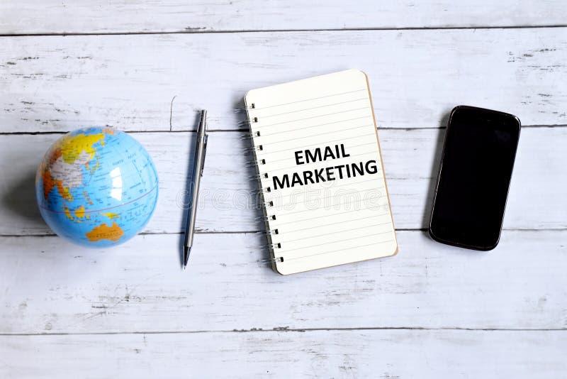 Márketing del correo electrónico imagen de archivo libre de regalías