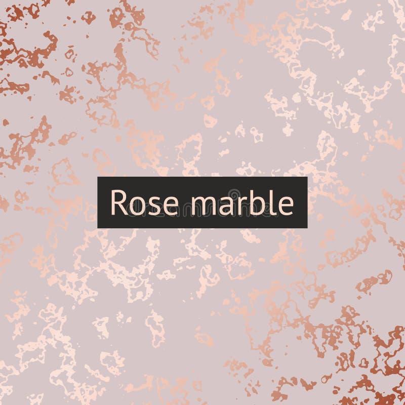 Mármol de Rose Modelo decorativo del vector para el diseño libre illustration