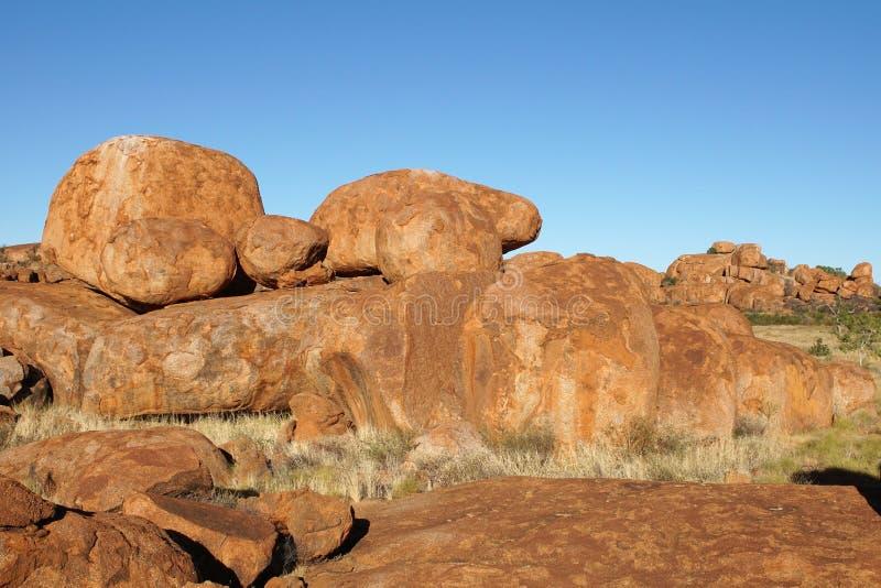 Mármoles de los diablos, Territorio del Norte, Australia fotos de archivo libres de regalías