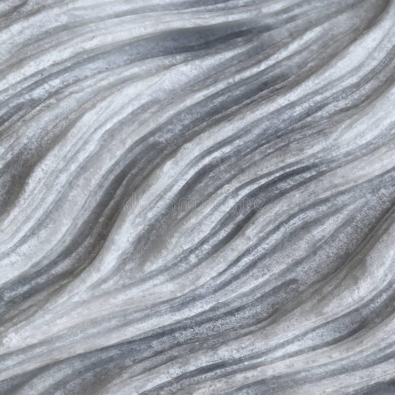 mármore cinzento e branco natural para o teste padrão e o fundo fotos de stock royalty free