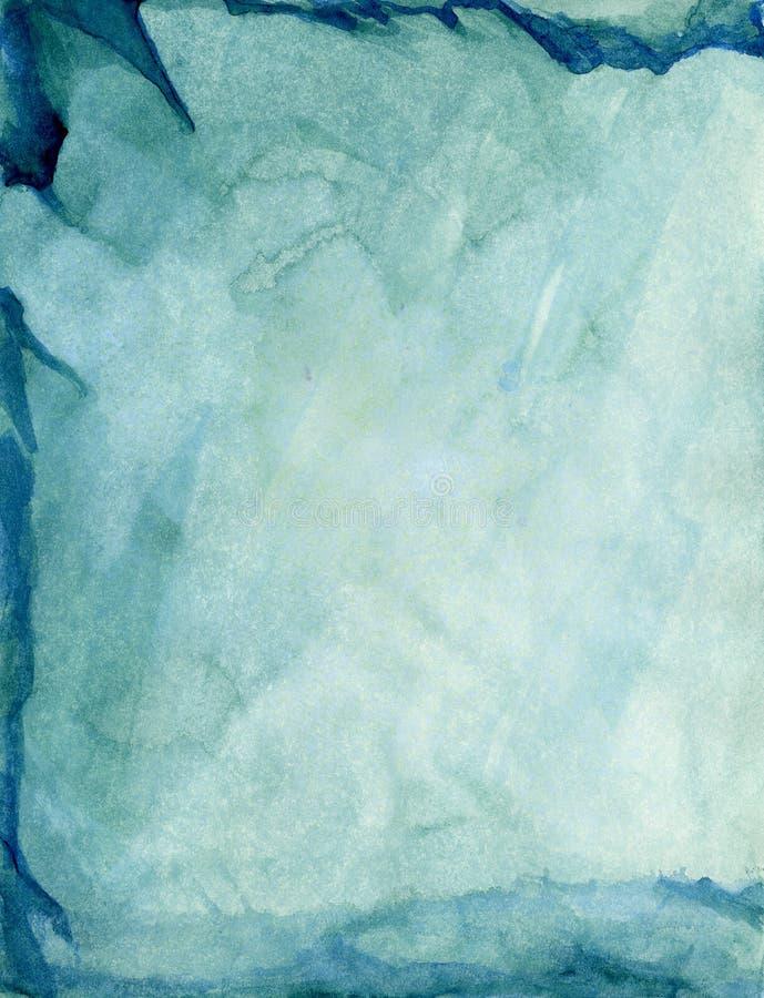 Mármore do verde azul ilustração royalty free
