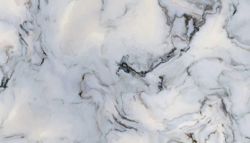 Mármore encaracolado branco ilustração stock