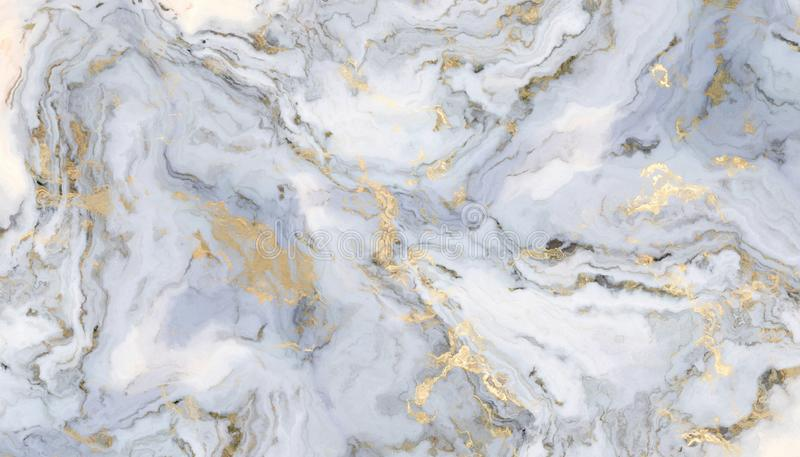 Mármore encaracolado branco ilustração do vetor
