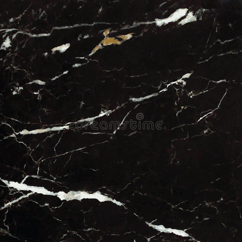 mármore preto de +EPS ilustração stock