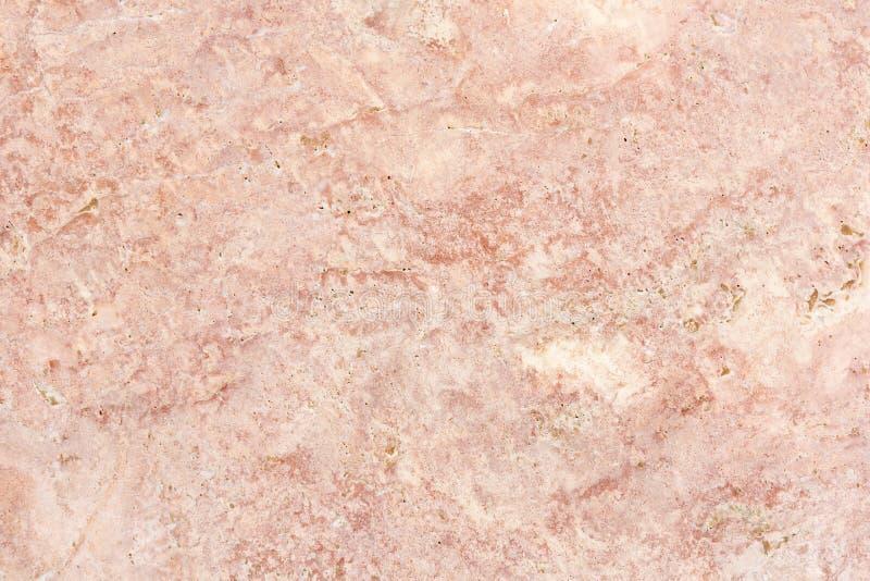 Mármore rosa polida com bela textura Imagem de fundo imagem de stock royalty free
