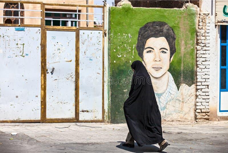 Mártir y mujer velada foto de archivo libre de regalías