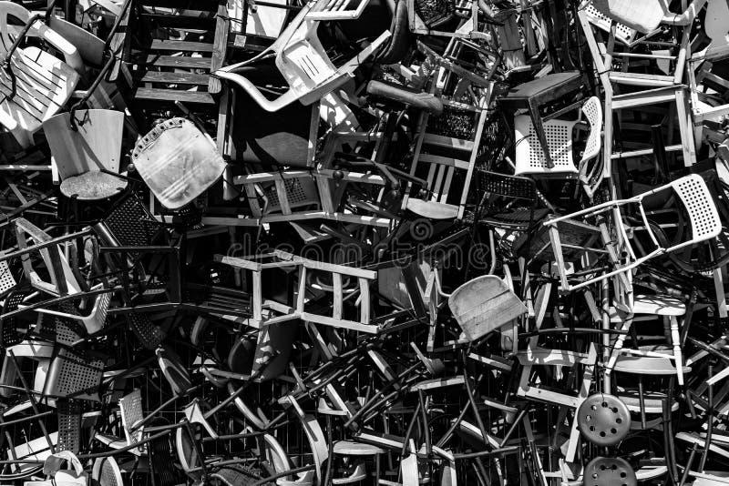 Más sillas fotos de archivo