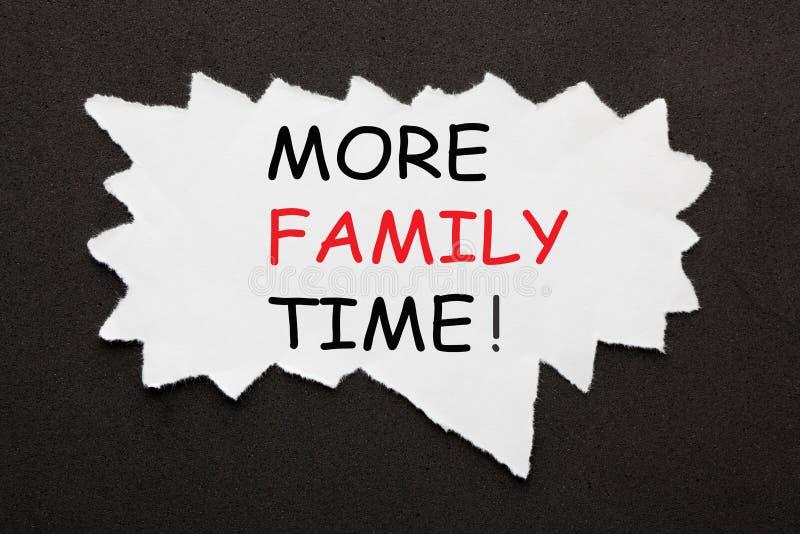 Más tiempo de la familia imágenes de archivo libres de regalías
