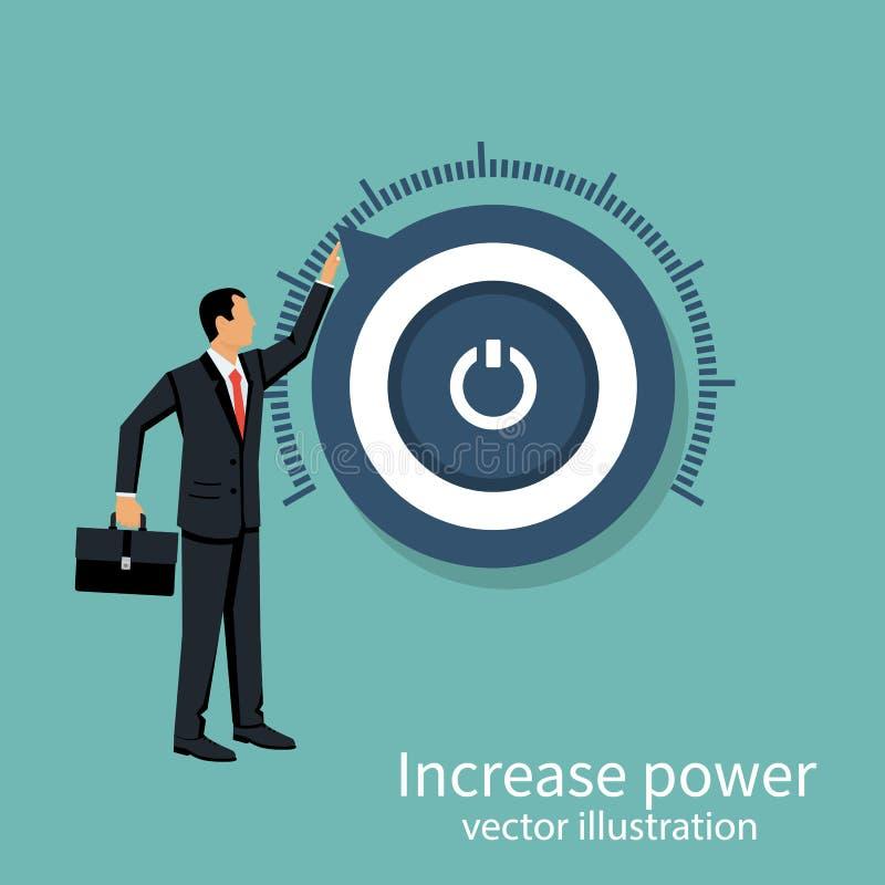 Más vector del poder ilustración del vector