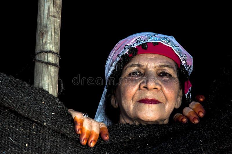 Más vieja mujer turca imagen de archivo