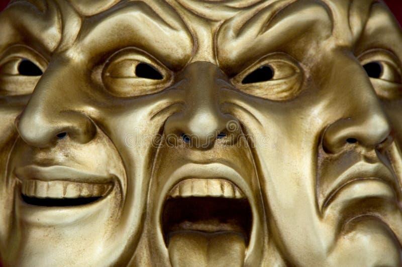 Máscara 02 imagem de stock royalty free