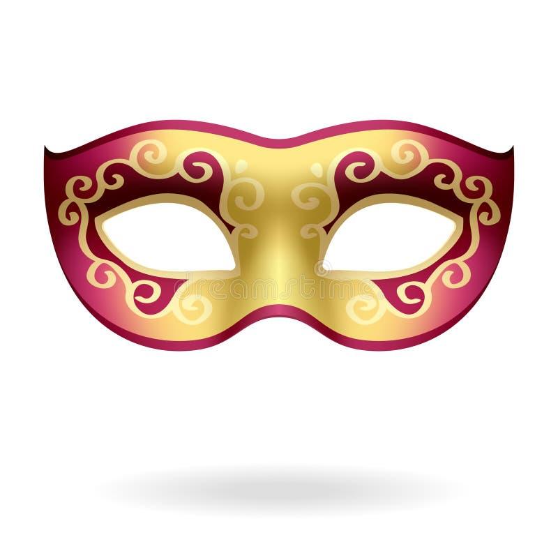 Máscara ilustração stock