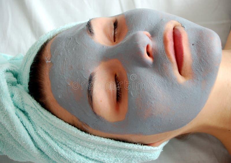 Máscara #19 da beleza foto de stock royalty free
