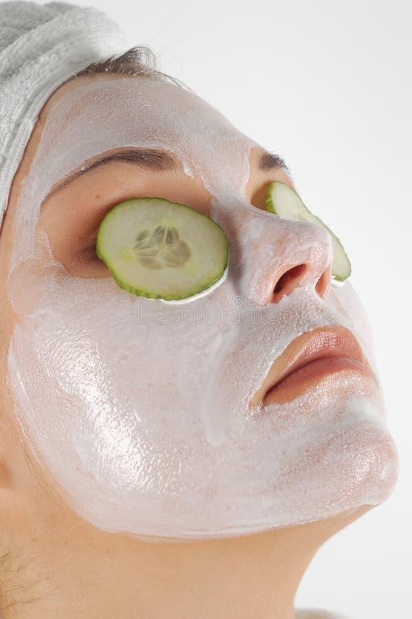 Máscara #21 da beleza imagem de stock