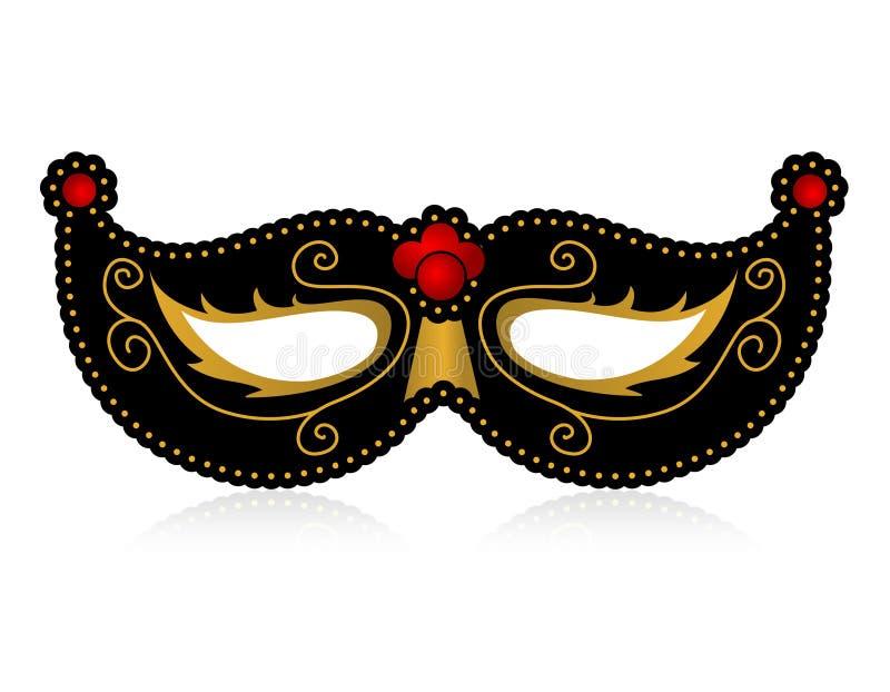Máscara ilustración del vector