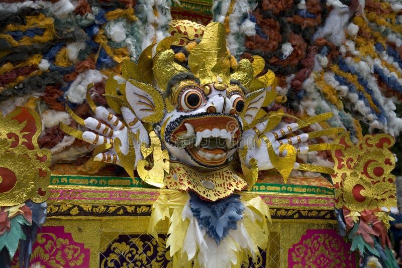 Máscara 3 de Barong foto de stock