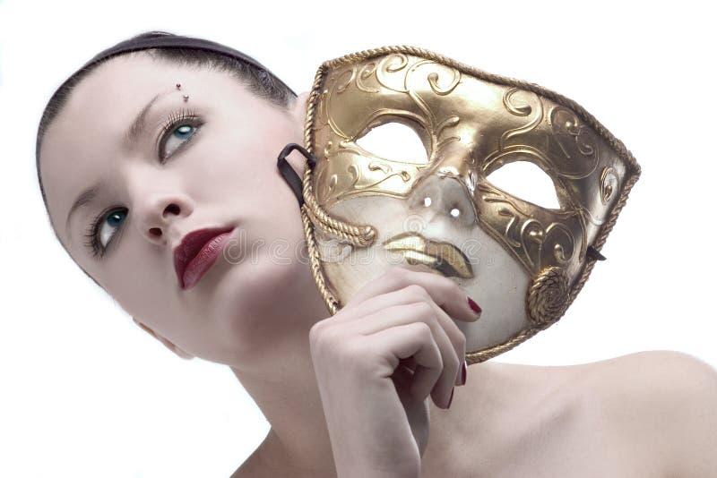 Máscara 4 de la belleza imagen de archivo