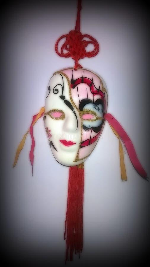 Máscara 3 foto de stock