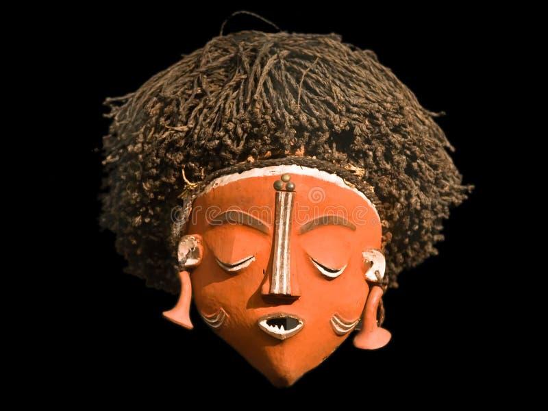Máscara africana fotografía de archivo