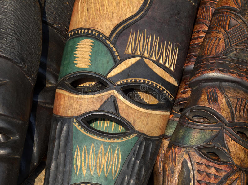 Máscara africana fotos de stock royalty free