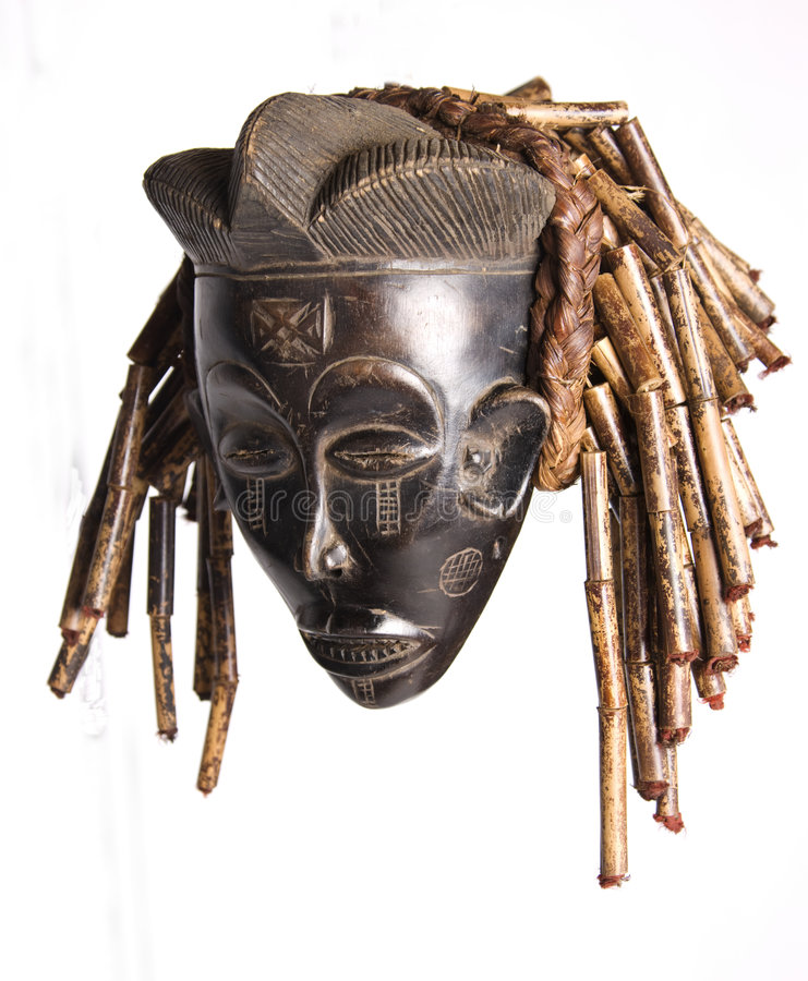 Máscara africana foto de stock royalty free